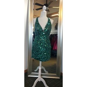 Jovani Halter Dress